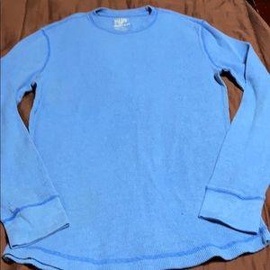 Men's Pullover Waffle Shirt. EUC!